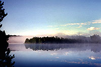/images/133/1997-08-tema-morning-fog.jpg - #00050: Morning on Rabbit Lake in Temagami, Canada … August 1997 -- Rabbit Lake, Temagami, Ontario.Canada