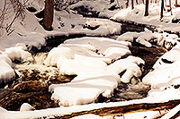 /images/133/1997-12-bruce-trail-river.jpg - #00078: Bruce Trail in winter  … Dec 1997 -- Bruce Trail, Halton, Ontario.Canada