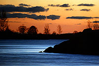 /images/133/1998-10-lake-ontario-sunset.jpg - #00155: sunset near Mississauga at Lake Ontario … Oct 1998 -- Toronto, Ontario.Canada