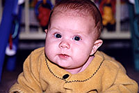 /images/133/1998-11-ontario-carly1.jpg - #00175: blue eyed baby Carly  … Nov 1998 -- Georgetown, Ontario.Canada