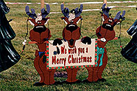 /images/133/1998-11-windsor-christmas.jpg - #00177: We wish you a merry Christmas - Reindeers a month before Christmas in Windsor, Ontario … Nov 1998 -- Windsor, Ontario.Canada