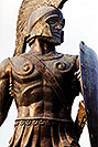 /images/133/1998-12-sparti-spartan.jpg - #00230: Spartan statue … images of Sparti … Dec 1998 -- Sparti, Greece