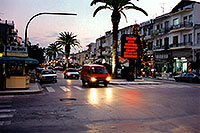 /images/133/1998-12-sparti-street4.jpg - #00235: red car entering intersection … images of Sparti … Dec 1998 -- Sparti, Greece