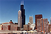 /images/133/1999-01-chicago-skyline.jpg - #00247: view of Chicago from Roosevelt Ave … Jan 1999 -- Chicago, Illinois