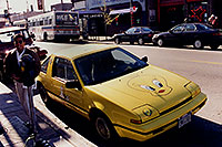 /images/133/1999-02-chicago-tweety.jpg - #00272: yellow Tweety Fiero in Chicago … Feb 1999 -- Chicago, Illinois
