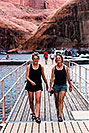 /images/133/1999-09-lake-powell-seva1-v.jpg - #00405: Sandra and Eva walking to Rainbow Bridge … Sept 1999 -- Lake Powell, Utah