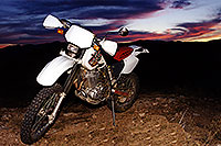 /images/133/2000-04-xr-bumble-bee.jpg - 00484: my Honda XR400 near Crown King … April 2000 -- Bumble Bee, Arizona