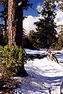 /images/133/2000-04-xr-crown-snow3.jpg - #00487: my Honda XR400 near Crown King … April 2000 -- Crown King, Arizona