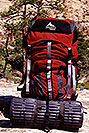 /images/133/2000-05-greater-zion-gregory2-v.jpg - #00490: Gregory Denali backpack … Greater Zion Wilderness … April 2000 -- Greater Zion, Utah