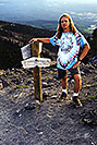 /images/133/2000-07-humphreys-saddle-si.jpg - #00511: at the saddle … hiking from Snowbowl to Humphreys Peak … July 2000 -- Humphreys Peak, Snowbowl, Arizona