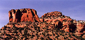/images/133/2000-07-sedona-hole-rock.jpg - #00512: Dogie Trail in Sycamore canyon … July 2000 -- Sycamore Canyon, Sedona, Arizona