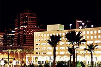 /images/133/2000-08-phoenix-night4.jpg - #00567: Phoenix downtown at night … August 2000 -- Phoenix, Arizona