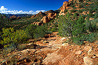 /images/133/2000-08-sedona-dogie-trail1.jpg - #00588: Dogie Trail in Sycamore Canyon … August 2000 -- Sedona, Arizona