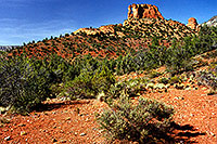/images/133/2000-08-sedona-dogie-trail5.jpg - #00592: Dogie Trail in Sycamore Canyon … August 2000 -- Sedona, Arizona