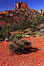 /images/133/2000-08-sedona-hole-rock.jpg - #00597: Dogie Trail in Sycamore Canyon … August 2000 -- Sedona, Arizona