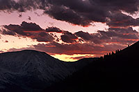 /images/133/2000-09-indep-sunset.jpg - 00655: sunset by Independence Pass … Sept 2000 -- Independence Pass, Colorado
