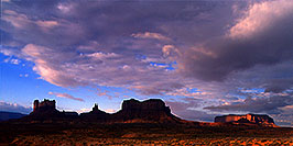 /images/133/2000-09-monvalley-6am-pano.jpg - #00675: 6am in Monument Valley … Sept 2000 -- Monument Valley, Utah