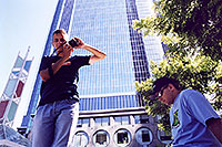 /images/133/2001-07-la-downtown-martin-.jpg - #00841: Martin & Peter in Los Angeles … July 2001 -- Los Angeles, California
