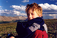 /images/133/2001-07-leadville-kyle3.jpg - #00826: Kyle … hiking to 12,500ft … July 2001 -- Chalk Mountain, Leadville, Colorado