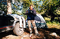 /images/133/2001-07-martin-lincoln-cree.jpg - #00840: Martin … camping near Independence Pass  … July 2001 -- Independence Pass, Colorado