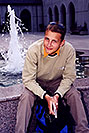 /images/133/2001-07-sfrisco-martin-fountain-v.jpg - #00851: Martin in front of a water fountain in San Francisco  … July 2001 -- San Francisco, California