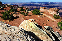 /images/133/2001-11-canyon-by-moab.jpg - #00905: Needles Overlook … near Moab … Nov 2001 -- Moab, Utah