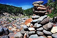 /images/133/2002-08-sedona-syca-canyon-.jpg - #01090: Sycamore Canyon river bed … August 2002 -- Sedona, Arizona