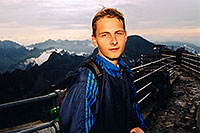 /images/133/2002-08-slovakia-lomnicky-m.jpg - #01115: Martin at Lomnicky Stit … July 2002 -- Lomnicky Stit, Vysoke Tatry, Slovakia