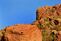 /images/133/2003-03-camelback-trail3.jpg - #01149: Camelback Mountain … March 2003 -- Camelback Mountain, Phoenix, Arizona