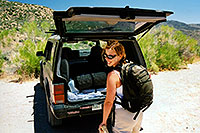 /images/133/2003-07-michelle-superstiti.jpg - #01280: Michelle in Superstitions … July 2003 -- Superstitions, Arizona