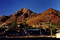 /images/133/2003-08-squaw-peak-road.jpg - #01343: peak of Squaw Peak in the middle … August 2003 -- Squaw Peak, Phoenix, Arizona