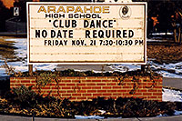 /images/133/2003-11-arapahoe-school.jpg - #01349: along my 12 mile walk … Nov 2003 -- Littleton, Colorado