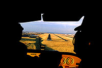 /images/133/2003-11-cessna-landing.jpg - #01359: approaching another landing in 4 seater Cessna (first 3 were enough for this backseat passenger)… Nov 2003 -- Centennial, Colorado