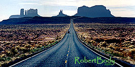 /images/133/2003-11-monvalley1-pano.jpg - #01368: road to Monument Valley … Nov 2003 -- Monument Valley, Utah