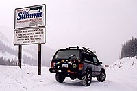 /images/133/2003-12-jeep-summit-pass.jpg - #01403: Eisenhower Tunnel (elev 11,013ft) from Silverthorne side … Dec 2003 -- Eisenhower Tunnel, Colorado