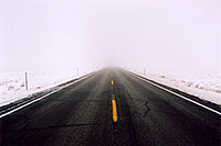 /images/133/2003-12-moab-fog-road4.jpg - 01407: Foggy Morning in Moab … Dec 2003 -- Moab, Utah