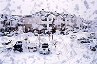 /images/133/2003-12-rosemont-snow-win.jpg - #01426: First snow of the season in Lone Tree … Nov 2003 -- Remington, Lone Tree, Colorado