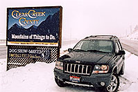 /images/133/2004-04-jeep-clear-creek.jpg - #01447: my new Jeep near Golden … April 2004 -- Golden, Colorado