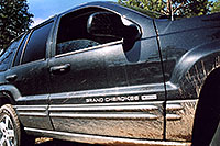 /images/133/2004-04-jeep-columbia.jpg - #01448: my new Jeep near Sedalia … April 2004 -- Sedalia, Colorado