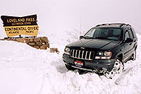/images/133/2004-04-jeep-loveland-pass.jpg - #01453: my new Jeep at Loveland Pass … April 2004 -- Loveland Pass, Colorado