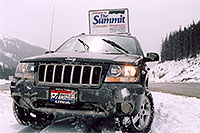 /images/133/2004-04-jeep-summit-pass.jpg - #01451: my Jeep near Golden … April 2004 -- Sedalia, Colorado
