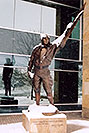 /images/133/2004-04-jeppesen1.jpg - #01459: statue of Elroy Jeppesen, airway chart pioneer … June 2004 -- Englewood, Colorado