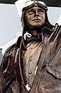 /images/133/2004-04-jeppesen3.jpg - #01455: statue of Elroy Jeppesen, airway chart pioneer … June 2004 -- Englewood, Colorado