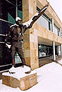 /images/133/2004-04-jeppesen4.jpg - #01463: statue of Elroy Jeppesen, airway chart pioneer … June 2004 -- Englewood, Colorado