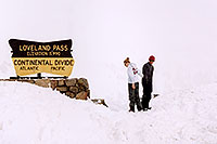 /images/133/2004-04-loveland-couple.jpg - #01459: views of Loveland Pass … April 2004 -- Loveland Pass, Colorado