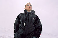 /images/133/2004-04-loveland-me3.jpg - #01467: hoping to measure 60mph wind at Loveland Pass (experienced a week before) … April 2004 -- Loveland Pass, Colorado
