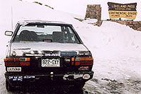 /images/133/2004-04-loveland-vw-sticker.jpg - #01484: views of Loveland Pass … April 2004 -- Loveland Pass, Colorado
