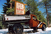 /images/133/2004-04-sedalia-orange-truc.jpg - #01488: views of Sedalia … April 2004 -- Sedalia, Colorado