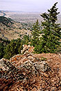 /images/133/2004-05-buffalo-bill-view1-v.jpg - #01485: View from Buffalo Bill grave … May 2004 … Golden, Colorado -- Golden, Colorado