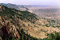 /images/133/2004-05-buffalo-bill-view3.jpg - #01505: View from Buffalo Bill grave … May 2004 … Golden, Colorado -- Golden, Colorado